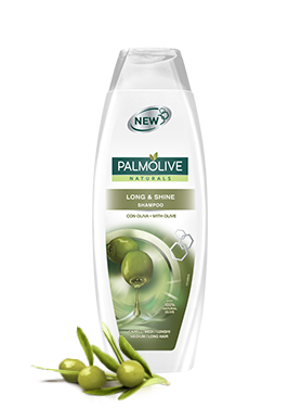 Palmolive Cura dei capelli, shampoo, Palmolive Naturals, long and shine Long & Shine