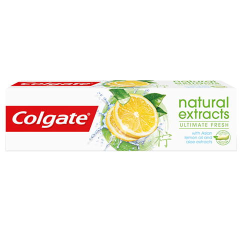 Colgate<sup>®</sup> Natural Extracts Ultimate Fresh