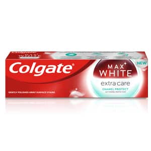 Colgate<sup>®</sup> Max White Extra Care Enamel